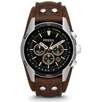 harga Fossil CH2891 Coachman Chronograph Leather Watch