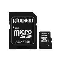 harga Kingston SDHC Class 4 Micro Memory Card 32GB