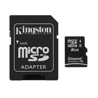 harga Kingston microSDHC Class 4 (4MBs) 8GB