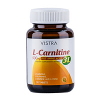 harga Vistra L Carnitine 500 plus 3L 30 tablet