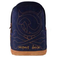 harga Bag & Stuff Denim Skull Backpack