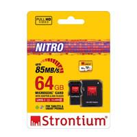 harga Strontium Micro Nitro UHS-1 SD card CLASS 10 64GB 566X Speed