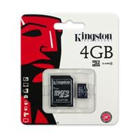 harga Kingston microSDHC Class 4 (4MB/s) 4GB