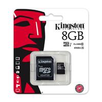 harga Kingston microSDHC UHS-I Class 10 (10MBs) 8GB