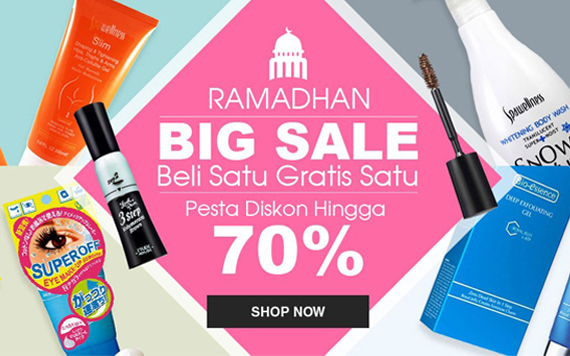 Ramadhan BIG SALE - Buy1 Get1 and 70% Discount