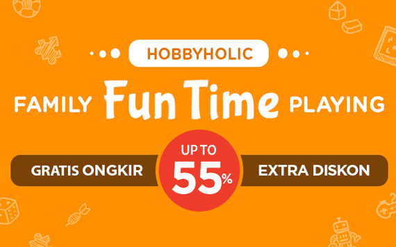 Elevenia - Kebersamaan di Momen Lebaran  Family Fun Time Playing Gratis OngKir & Discount up to 55%