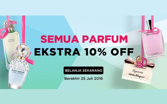 DISKON 10% untuk Semua Parfum