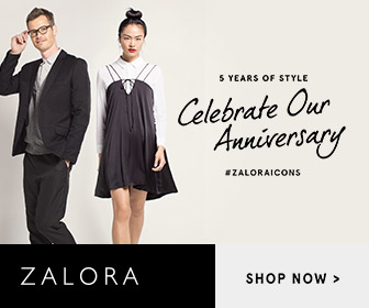 Zalora 5 Years Of Style, Celebrate Our Anniversary, Zalora Icons..
