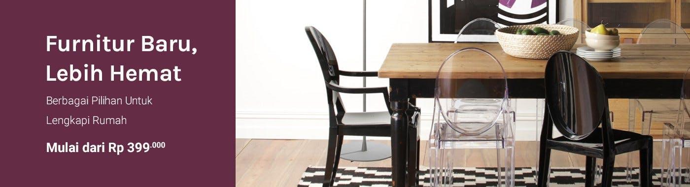 Fabelio - Furnitur Baru Lebih Hemat Berbagai Pilihan Untuk Lengkapi Rumah Mulai dari Rp 399.000