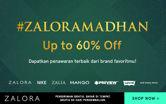 Zalora Ramadhan Up To 60% OFF