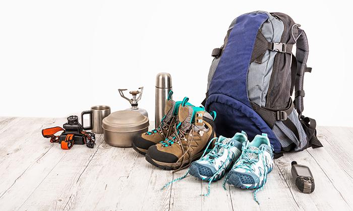 persiapan backpacking