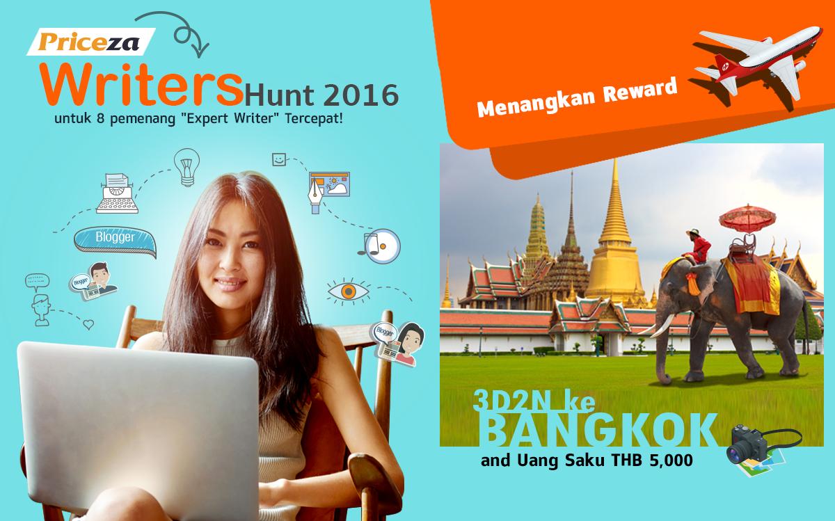Menangkan Trip Ke Bangkok Untuk 8 Penulis Terbaik!