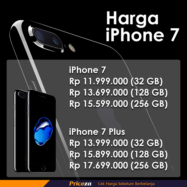 daftar harga iphone 7