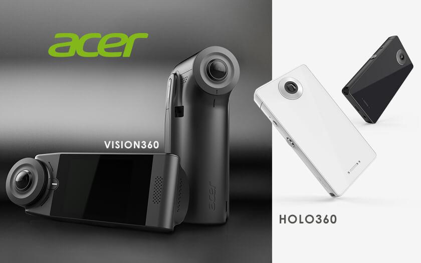 Acer Meluncurkan 2 Kamera 360 Derajat, Holo360 dan Vision360