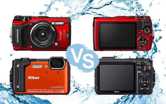 Nikon Coolpix W300 vs Olympus Tough TG-5, Mana yang Terbaik?