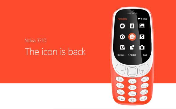 Nokia 3310 2017 dengan Kamera dan Baterai Tahan Lama
