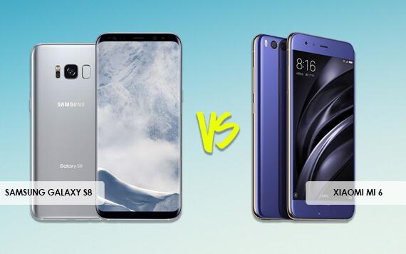Belum Sebulan Rilis, Samsung Galaxy S8 Ditantang Xiaomi Mi 6