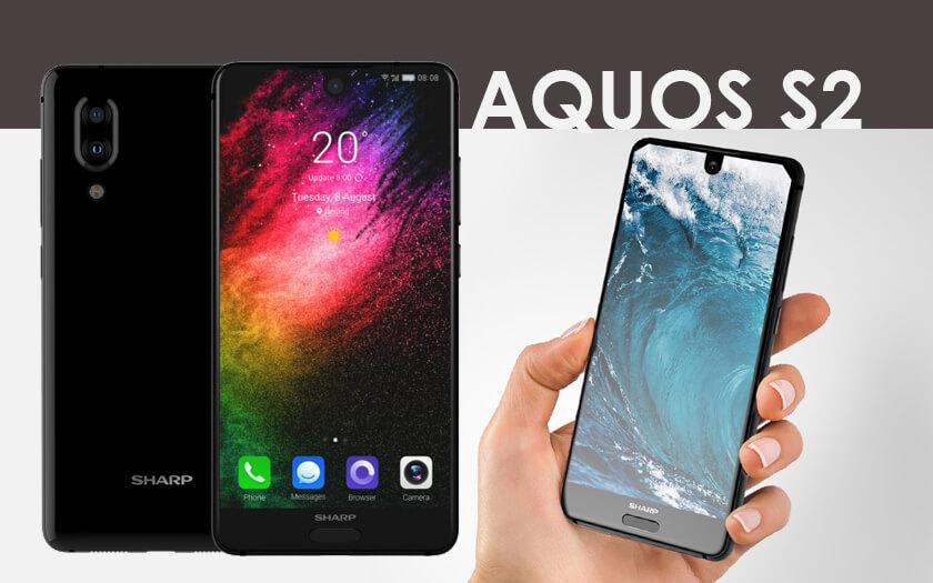 Sharp Aquos S2, Smartphone dengan Full Layar di Bagian Depan