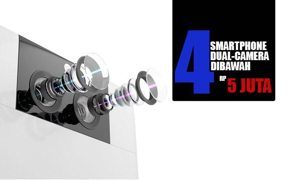 4 Smartphone Dual-Camera Terbaik dengan Harga dibawah 5 Juta