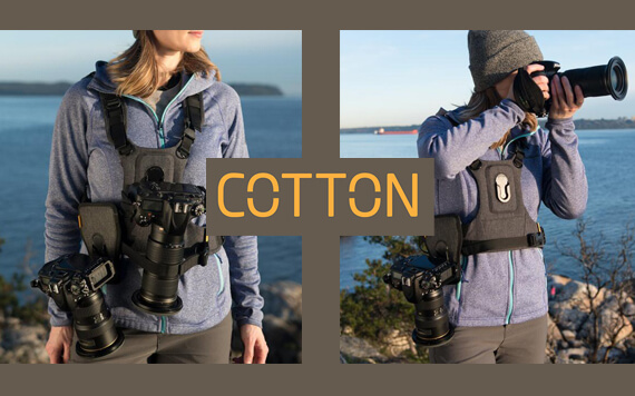 Cotton Carrier Rilis G3 Camera Harness bagi Pemotret Outdoor