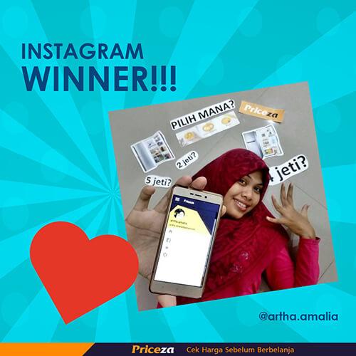 pemenang instagram