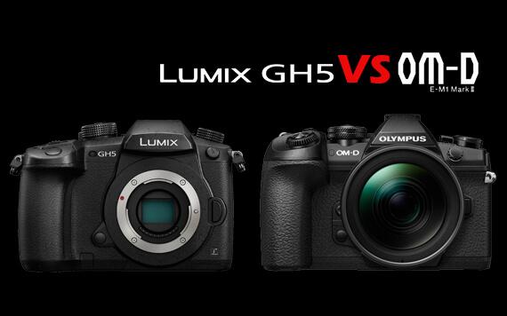 Mana yang Terbaik, Panasonic GH5 atau Olympus E-M1 Mark II?