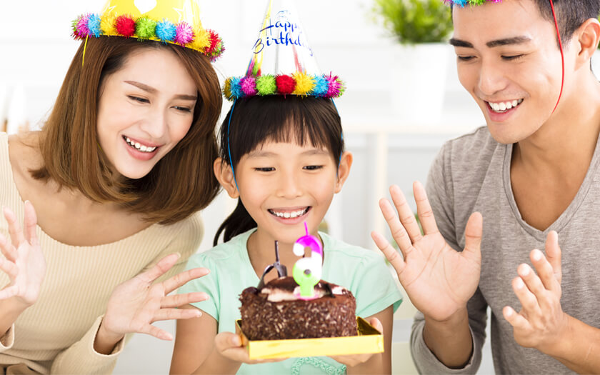 Mendandani Si Kecil Agar Tampil Menawan di Pesta Ulang Tahun