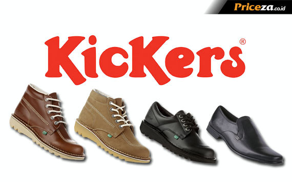 Harga Sepatu Kickers Boots Tracking Original Murah# 08 ...