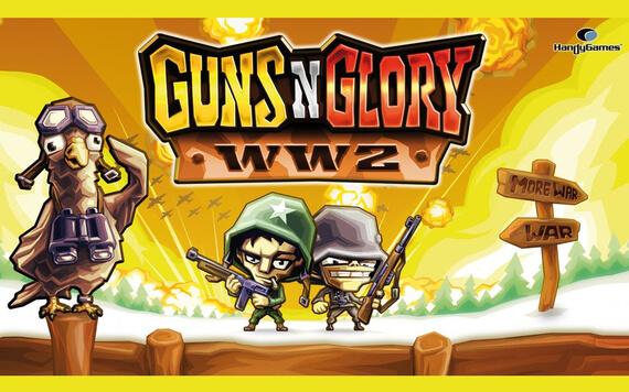 Guns N Glory WW2 - Game Defense Berlatar Perang