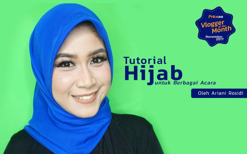 Tutorial Hijab Untuk Kegiatan Sehari Hari Sampai Acara Resmi